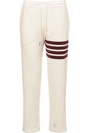 Thom Browne | Mujer Pantalones Rectos De Jersey De Algodón Stretch 36