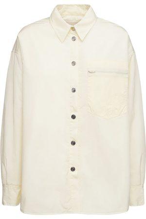 REMAIN Mujer Camisas - | Mujer Camisa Oversize Evy De Nylon Reciclado Acolchado 32