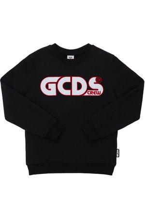 GCDS Niña Sudaderas - | Niña Sudadera De Algodón Con Logo Bordado 8a