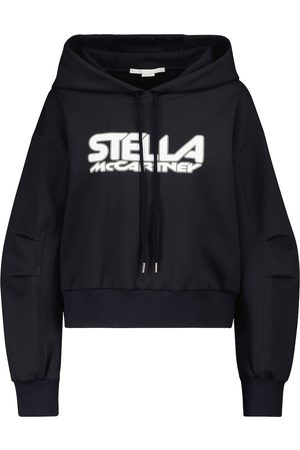 Stella McCartney Sudadera de neopreno con logo