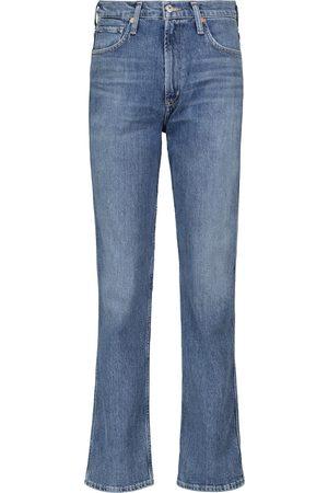 Citizens of Humanity Jeans ajustados de talle alto Daphne