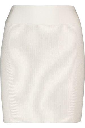 GALVAN Minifalda acanalada
