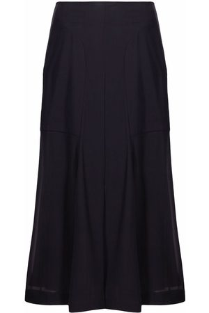 Salvatore Ferragamo High-waisted midi skirt