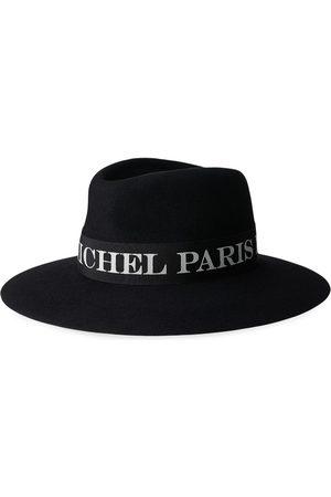 Le Mont St Michel Mujer Sombreros - Sombrero Charles con ribete con logo