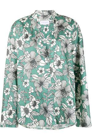 CHRISTIAN WIJNANTS Camisa Tumas con estampado floral