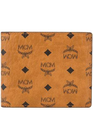 MCM Hombre Carteras y monederos - Cartera plegable con logo