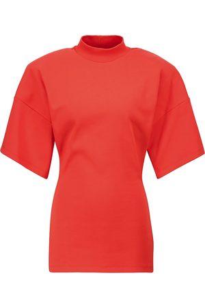 The Attico Camiseta de punto de algodón
