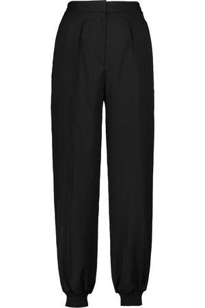 Stella McCartney Pantalones tapered Nicole de lana