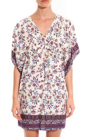 Davis Vestido Robe Patchouli fleurs para mujer