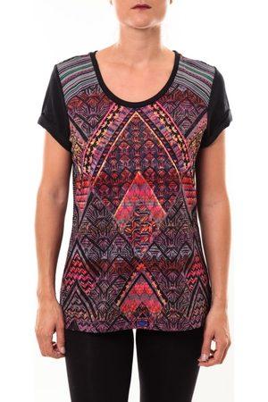 Custo Barcelona Camiseta Top Luzio Newark multicouleurs para mujer