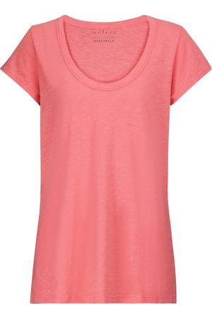 Velvet Camiseta Kira de algodón