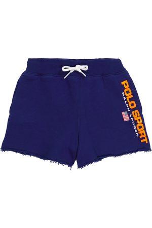 Ralph Lauren Pantalones cortos de mezcla de algodón con logo