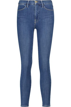 Frame Jeans skinny 24 Hour de tiro alto