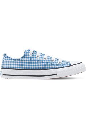"""Converse   Niña Sneakers """"all Star Chuck Taylor"""" A Cuadros /blanco 1.5"""