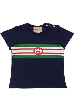 Gucci | Niño Camiseta De Jersey Estampado 6-9m