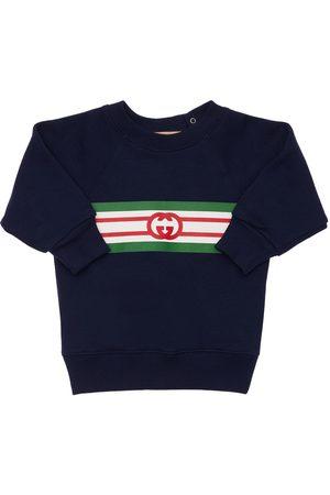 Gucci | Niña Sudadera De Algodón Con Logo 6-9m