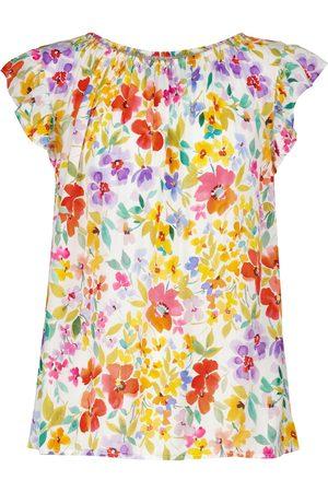 Velvet Blusa Elliott floral