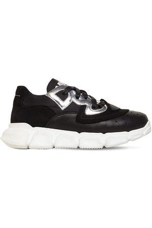 MM6 MAISON MARGIELA   Niño Sneakers De Piel Con Cordones 36