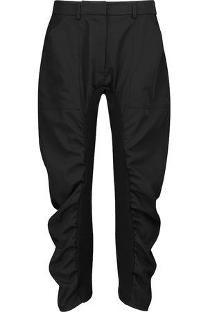 Stella McCartney Pantalones Tina de lana acanalados