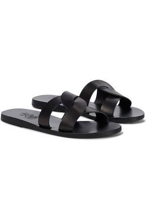 Ancient Greek Sandals Sandalias Desmos Stitch de piel