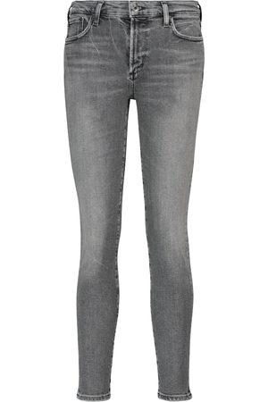 AGOLDE Jeans skinny Sophie de tiro medio