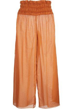 JOHANNA ORTIZ Pantalones anchos Esperanza de algodón