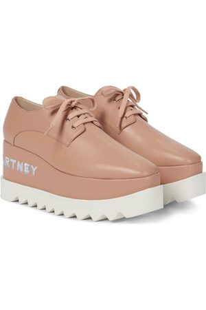 Stella McCartney Zapatos Derby Elyse con plataforma