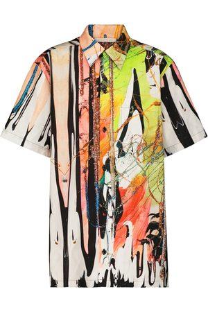 Christopher Kane Camisa Mindscape de algodón