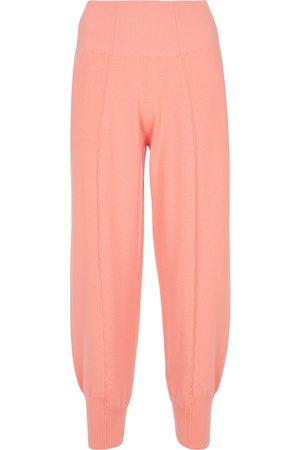 Stella McCartney Pantalones de chándal de lana virgen