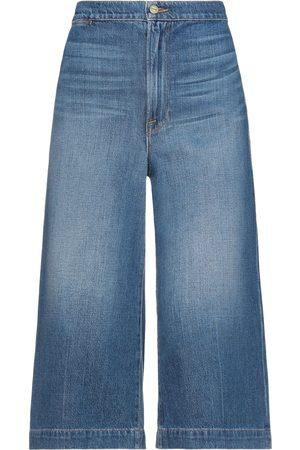 Frame Mujer Cintura alta - Pantalones capri vaqueros