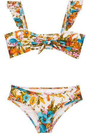 ZIMMERMANN | Niña Bikini Con Estampado Floral 8a
