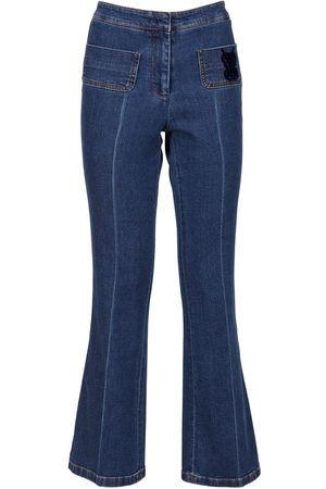 Giambattista Valli   Mujer Jeans Acampanados De Denim 38