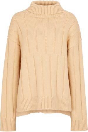 Jil Sander Jersey en mezcla de lana de cuello alto