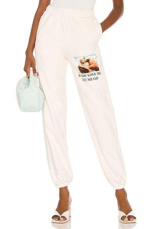 Boys Lie Pantalón deportivo en color blanco talla L en - White. Talla L (también en S, M).