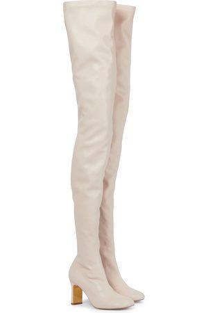 Stella McCartney Mujer Botas altas - Botas mosqueteras Ivy de piel sintética