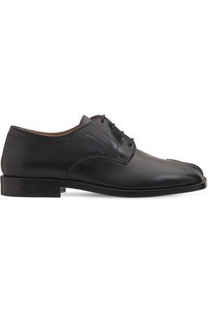 Maison Margiela | Mujer Zapatos De Piel Tabi Con Cordones 20mm 40