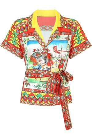 Dolce & Gabbana Camisa con estampado gráfico