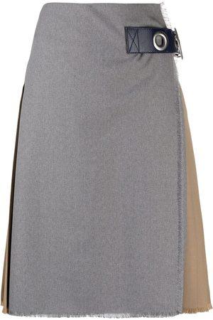 Marni Falda con pliegues en la parte posterior
