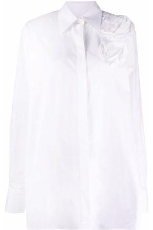VALENTINO Camisa con detalle floral