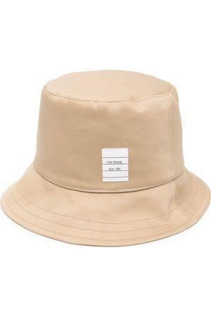 Thom Browne Sombrero de pescador con parche del logo