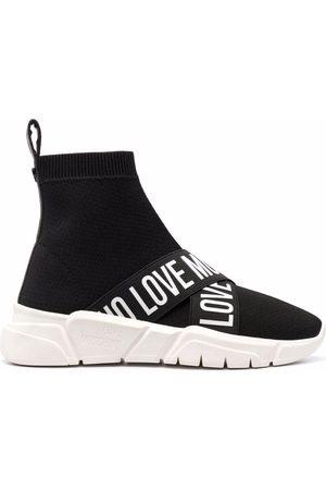 Love Moschino Zapatillas estilo calcetín