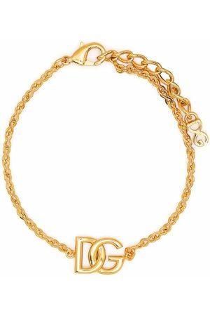 Dolce & Gabbana Pulsera DG con cadena