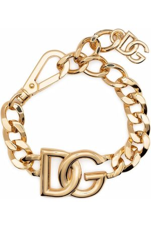 Dolce & Gabbana Pulsera con logo oversize