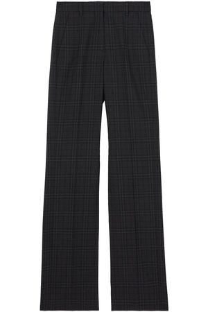Burberry Pantalones de vestir a cuadros