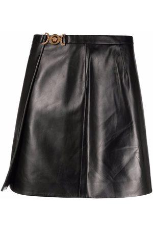 VERSACE Mujer Minifaldas - Falda corta Medusa cruzada