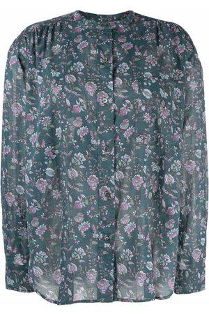 Isabel Marant Étoile Mujer Estampadas - Camisa con estampado floral