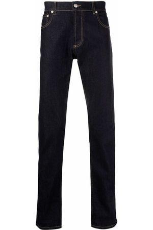 Alexander McQueen Vaqueros slim con bolsillos
