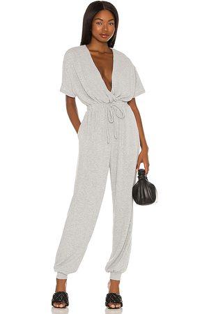 MAJORELLE Will jumpsuit en color gris talla L en - Grey. Talla L (también en XXS, XS, S, M, XL).