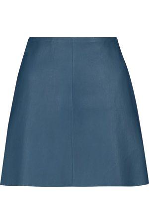 Stouls Minifalda Santa María de piel
