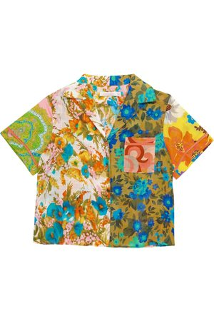ZIMMERMANN Niña Camisas - Camisa Estelle de algodón